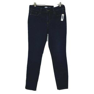 Old Navy 10 Pop Icon Skinny Mid Rise Blue Jeans